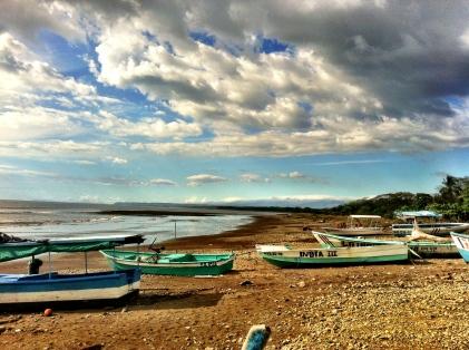 Fishermen's hangout - Costa Rica