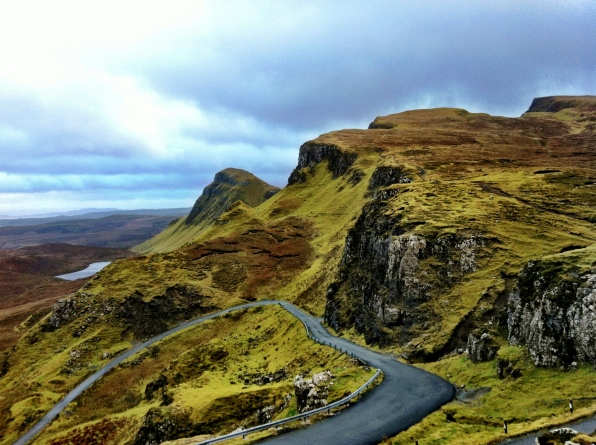 Winding around the Isle of Skye