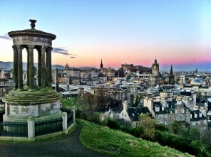 Edinburgh at sunrise